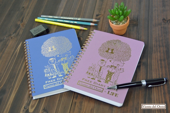 vient del oeste new diary notebook